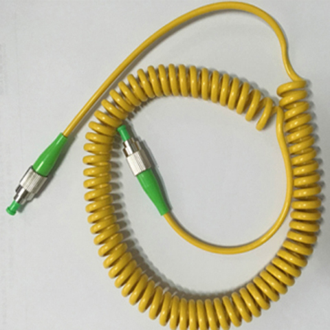 Spiral Fiber Patch Cord with SC/LC/ST