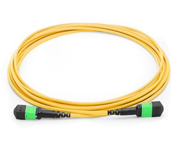 SM Yellow Fiber Patch Cord wtih MTP/MPO connector